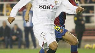 """O jogador Luís Fabiano, """"repatriado"""" pelo São Paulo em 2011."""