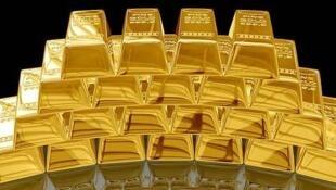 圖為中國網絡關於識別真假黃金的配圖