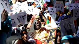 Musfa, Nil Bleu, le 26 janvier 2011. Les citoyens et citoyennes du Nil Bleu sont invités à des auditions publiques sur le traité de paix signé en 2005 entre le Soudan et le Sud-Soudan. La question posée : cet accord satisfait-il vos attentes ?