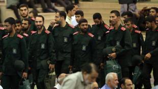 Des membres des Gardiens de la révolution à Téhéran le 19 juillet 2019 (image d'illustration).