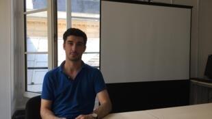 Tiago Ramalho, doutorando português na faculdade de ciências políticas Sciences Po de Paris