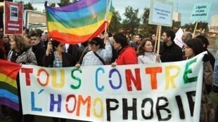 Alta de agressões contra LGBT na França