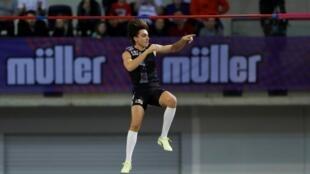 Armand Duplantis a battu son propre record du monde du saut à la perche lors du meeting de Glasgow, le 15 février 2020. Le Suédois a franchi 6,18m.