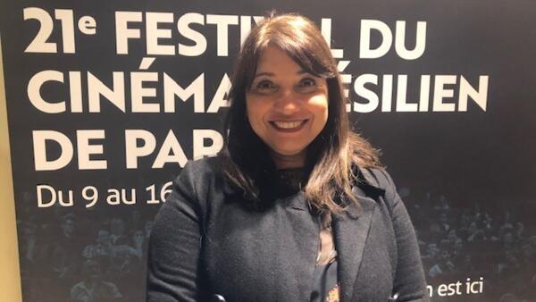 A cineasta brasileira Susanna Lira