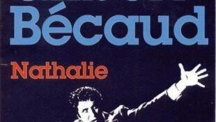 Caratula del single Nathalie de Gilbert Bécaud