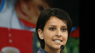The French Minister for women's rights, Najat Vallaud Belkacem.