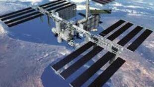 ស្ថានីយ៍អវកាសអន្តរជាតិ (International Space Station/Station spatiale internationale)