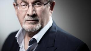 Salman Rushdie em Paris em 10 de setembro de 2018.