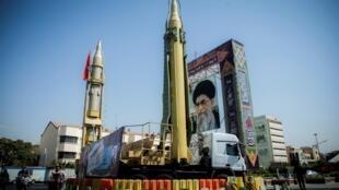 Alamun makami mai Linzamin Iran tare da Jagoran juyin juya halin kasar Ayatollah Ali Khamenei