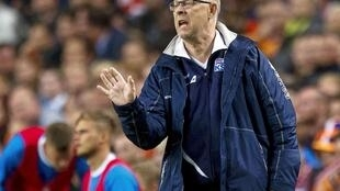 Lars Lagerback has led Iceland to their first major tournament.