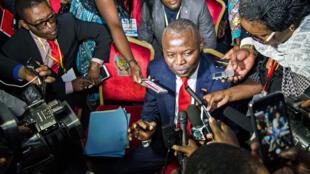 Vital Kamerhe, président de l'UNC, a été écroué après plusieurs heures d'audition (image d'illustration)