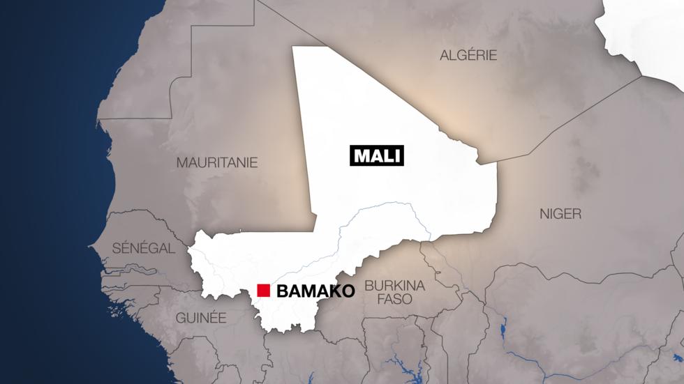 Carte du Mali.