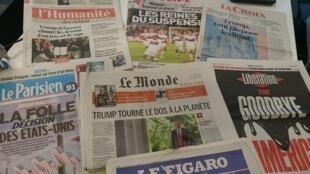 Diários franceses 02.06.2017
