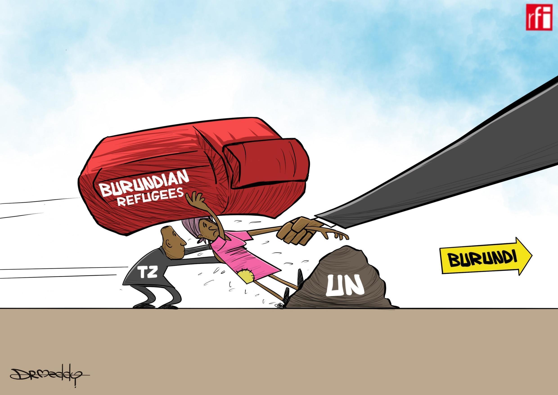 Katunzi hii inaelezea wito wa serikali ya Tanzania kwa wakimbizi kutoka  Burundi kurejea nyumbani, lakini wao hawataki. (29/08/2019)
