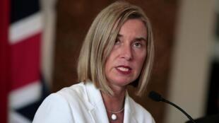 """""""Rejeitamos qualquer ultimato e avaliaremos o cumprimento por parte do Irã de seus compromissos nucleares"""", advertiram Alemanha, França e Reino Unidos, assim como a Alta Representante da UE para Política Externa, Federica Mogherini."""