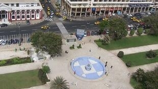 Independence Square in Dakar