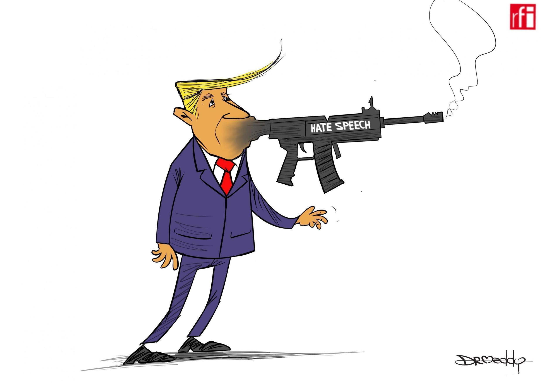 Rais wa Marekani Donald Trump amesema chuki ndio inayosababisha watu kushambuliwa kwa kupigwa risasi katika jimbo la Texas na kusababisha vifo vya zaidi ya watu 30 08/08/2019