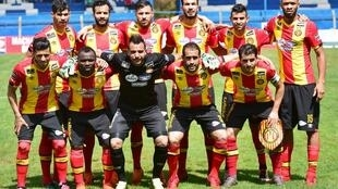 L'équipe de l'Espérance de Tunis (photo datée de mars 2018).