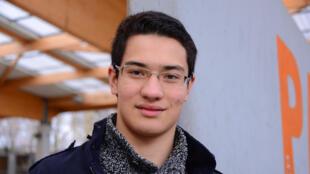 O estudante franco-chinês Daniel.