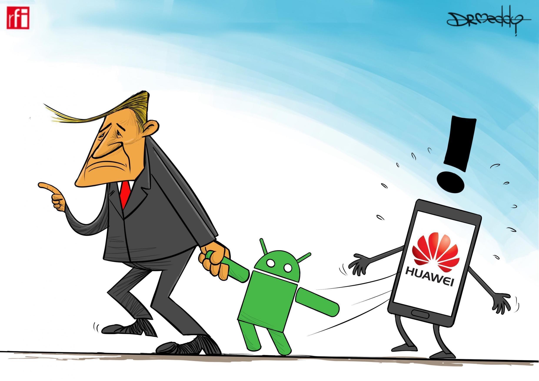 Mvutano wa kibiashara kati ya Marekani na China wasababisha kampuni ya Google kuonya kampuni ya Huaiwie (24/5/2019)