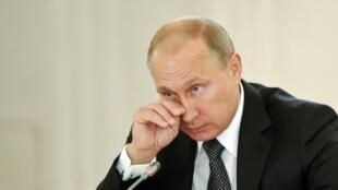 Владимир Путин в Кремле 18/09/2014 (архив)