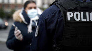 2020-03-17 france police coronavirus lockdown check