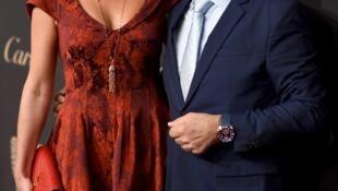O chef Daniel Boulud com sua mulher, Katherine, em setembro de 2016