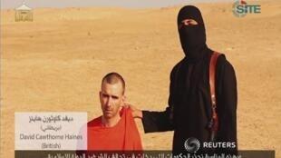 Em vídeo, refém David Haines é apontado como a próxima vítima ocidental do Estado Islâmico.