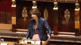 French Health minister Marisol Touraine, File March 2015.