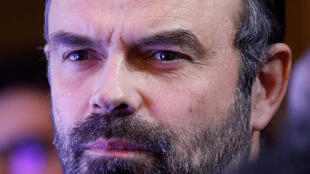 French Prime Minister Edouard Philippe attends a ceremony to present the Ilan Halimi award to reward projects by youths combating anti-semitism and racism at the Hotel Matignon in Paris, France, February 12, 2019.