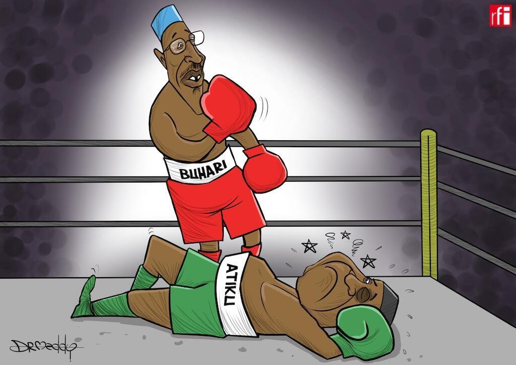 Nigeria: Buhari ashinda uchaguzi kwa muhula mwingine wa miaka minnekwa 56 % ya kura, (27/02/2019).