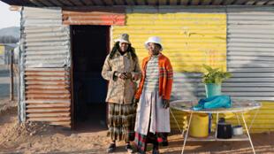 «Datazone #06» de Philippe Chancel. Photo prise à Marikana en Afrique du Sud en 2012.
