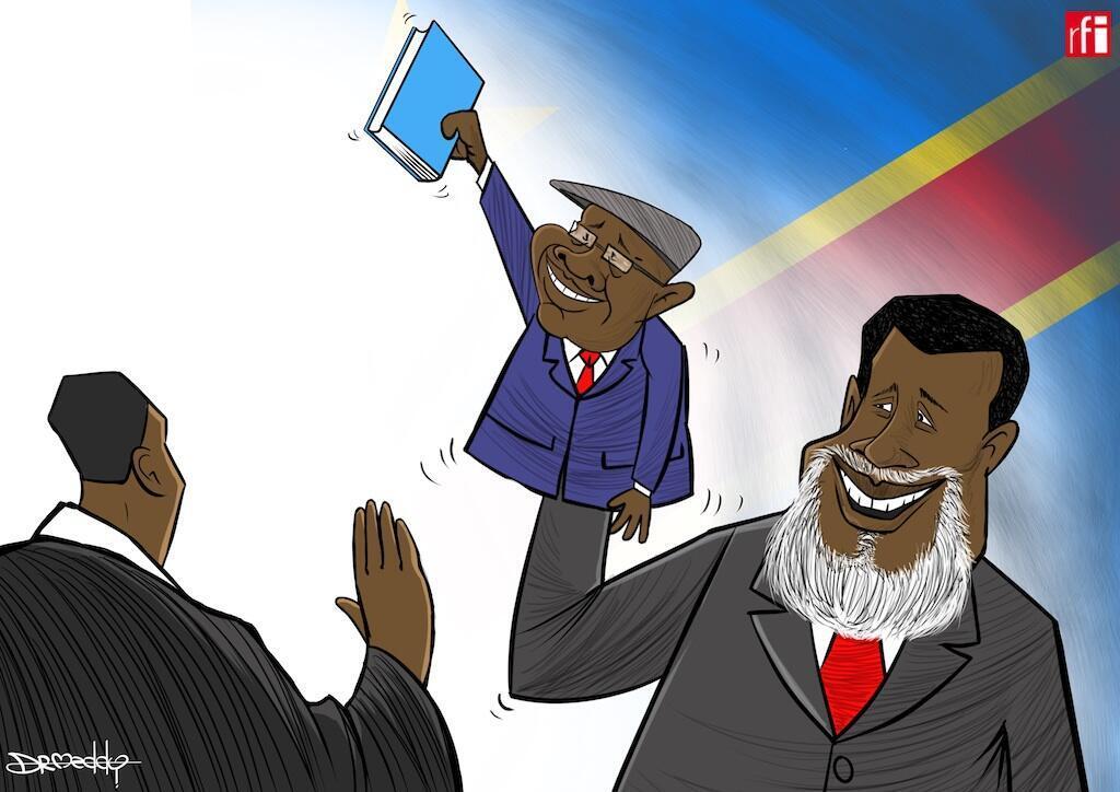 Felix Tshisekedi atawazwa kama rais wa DRC. Amemrithi Joseph Kabila wakati wa uchaguzi wa amani. (24/01/2019).