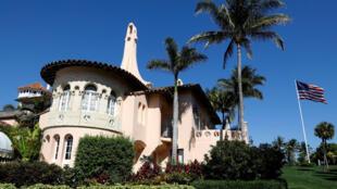 A casa de Donald Trump de Mar-a-Lago, na Flórida, em 22 março de 2019.
