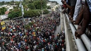 une manifestation d'ampleur a eu lieu dans les rues de Port-au-Prince le 20 septembre 2019 contre la pénurie de carburant et un coupable désigné, Jovenel Moïse, le président.