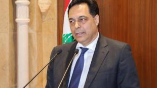 Le nouveau Premier ministre libanais Hassan Diab.