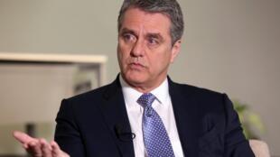 លោក Roberto Azevedo  អគ្គនាយកនៃអង្គការពាណិជ្ជកម្មពិភពលោក (WTO)