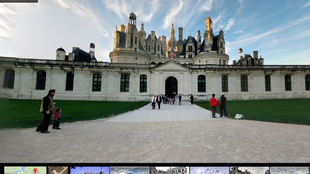 The Château de Chambord in the Loire Valley