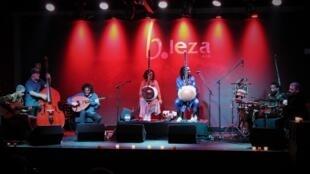 O grupo actuou no começo deste mês no mítico B-Leza em Lisboa.