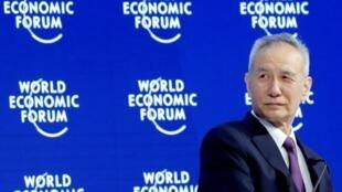 中方出席達沃斯論壇的是被稱為習近平超級經濟顧問的劉鶴