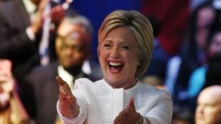 Hillary Clinton, el 7 de junio de 2016 en Nueva York.