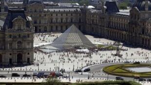 O museu do Louvre, o mais visitado do mundo