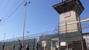 Một vọng gác tại trại tù của Quân Đội Mỹ tại Guantanamo (Cuba). Ảnh chụp ngày 26/01/2017.