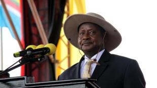 Le président  ougandais Yoweri Museveni (photo d'illustration)