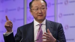 O presidente do Banco Mundial, Jim Yong Kim.