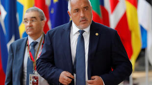 Le Premier ministre bulgarien Boïko Borissov.