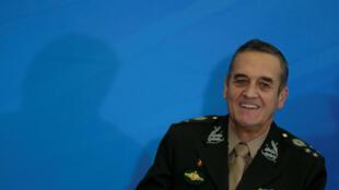 O general Eduardo Villas Boas, comandante do Exército Brasileiro, no Palácio do Planalto, em Brasília, em 6 de abril de 2017.
