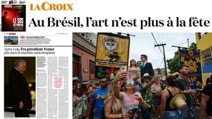 A imprensa francesa repercute a prisão do ex-presidente Michel Temer.