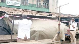 Masallacin Juma'ar garin Agege na Hausawa da hukumomin Lagos suka rufe