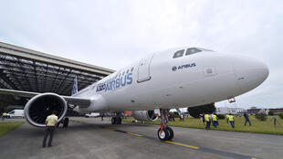 The Airbus A320neo at the Le Bourget airshow this year